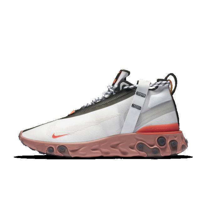 Nike React Runner Mid 'White Crimson'