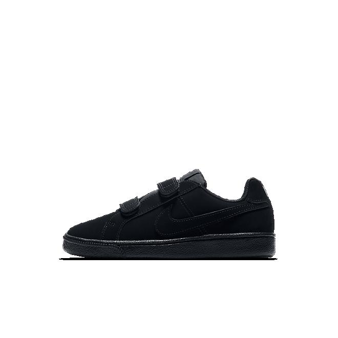 NikeCourt Royale Kleuterschoen - Zwart
