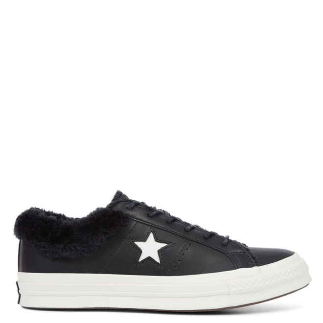Converse One Star Street Warmer Leather Low Top