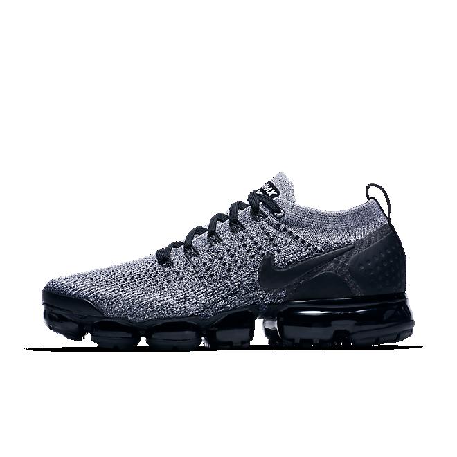 Nike Air Vapormax Flyknit 2 (White / Black - Black)