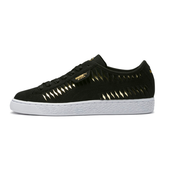 Puma Suede Metallic Entwine Womens Trainers | 365471_02