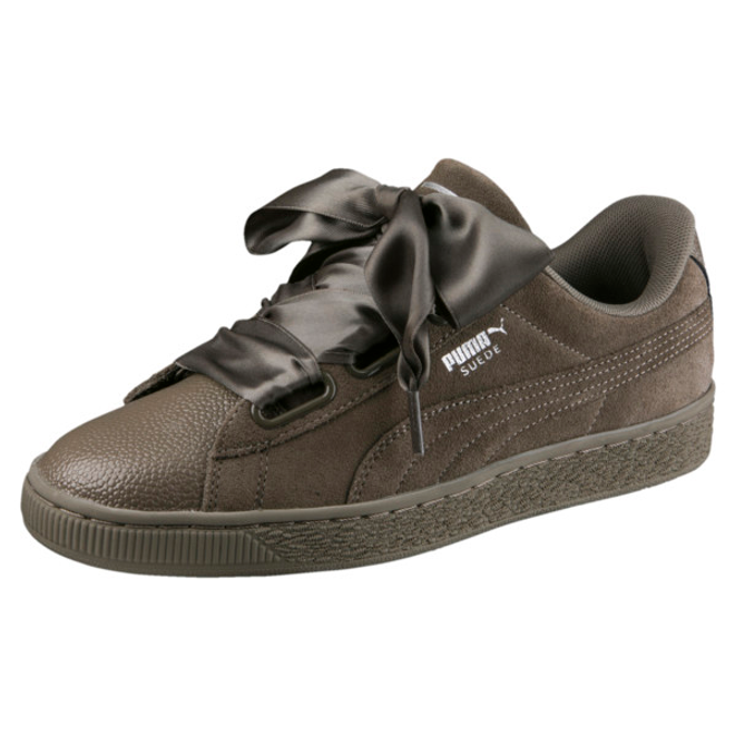 Puma Suede Heart Bubble Womens Trainers