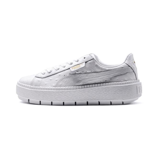 Puma Platform Trace Ostrich Women%e2%80%99S Sneakers | 366684_02 |  Sneakerjagers