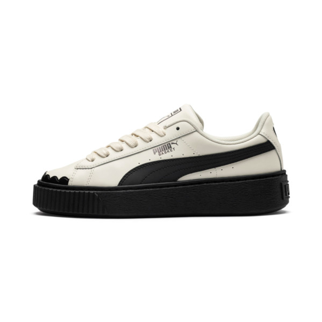Puma Basket Platform Scallop Women%e2%80%99S Sneakers