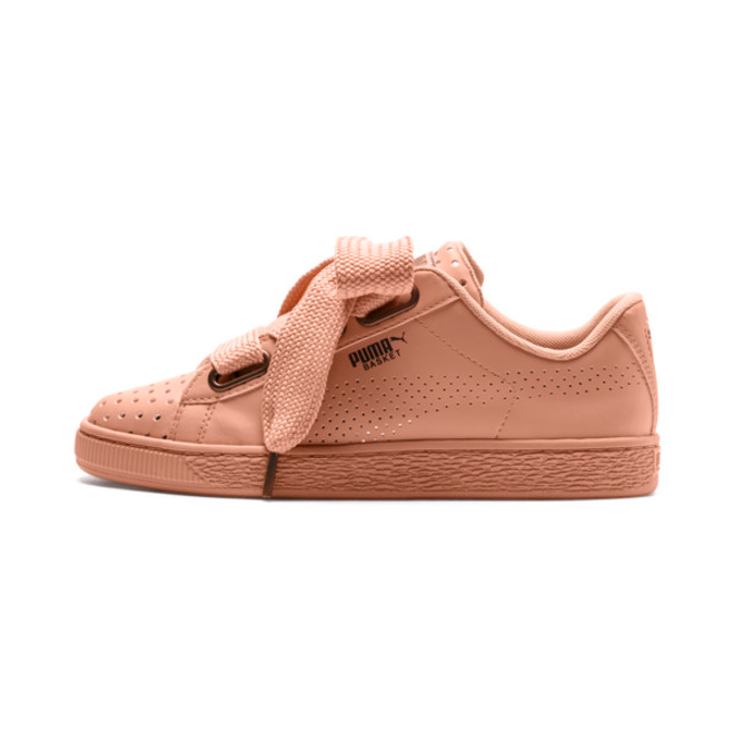 Puma Basket Heart Ath Lux Womens Trainers