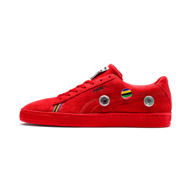 Puma Power Through Peace Asia Suede Sneakers