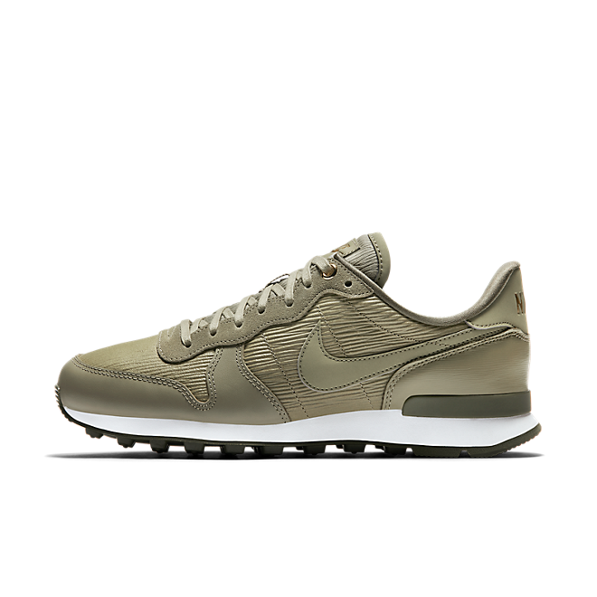 nike internationalist dames olive