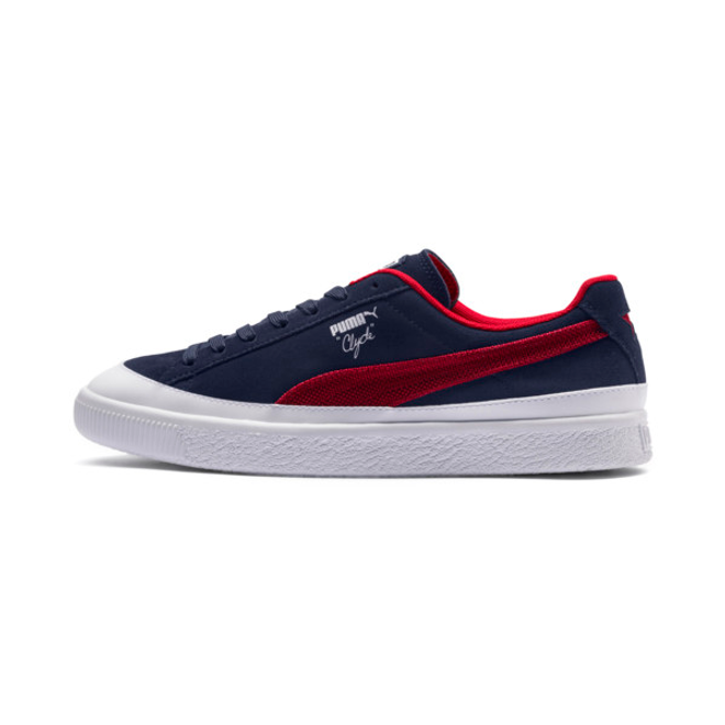 Puma Clyde Rubber Toe Sneakers