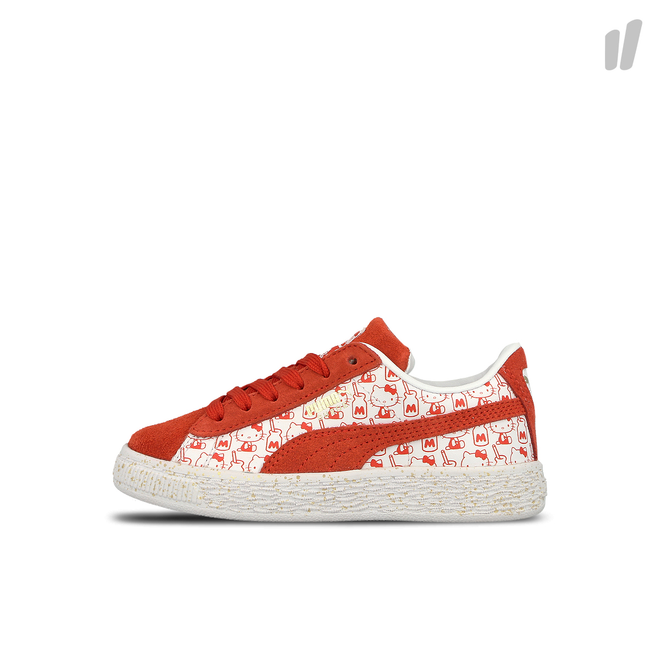 | PUMA Womens Suede Classic x Hello Kitty Casual