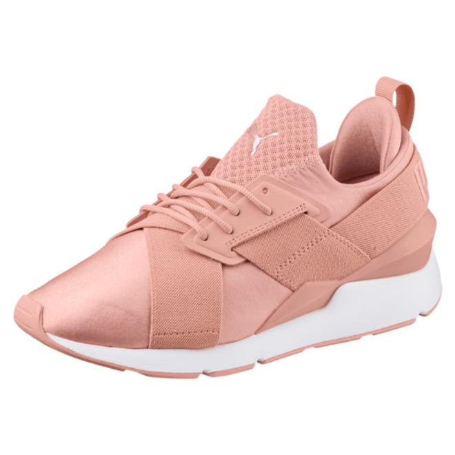 Puma En Pointe Muse Satin Womens Sneakers