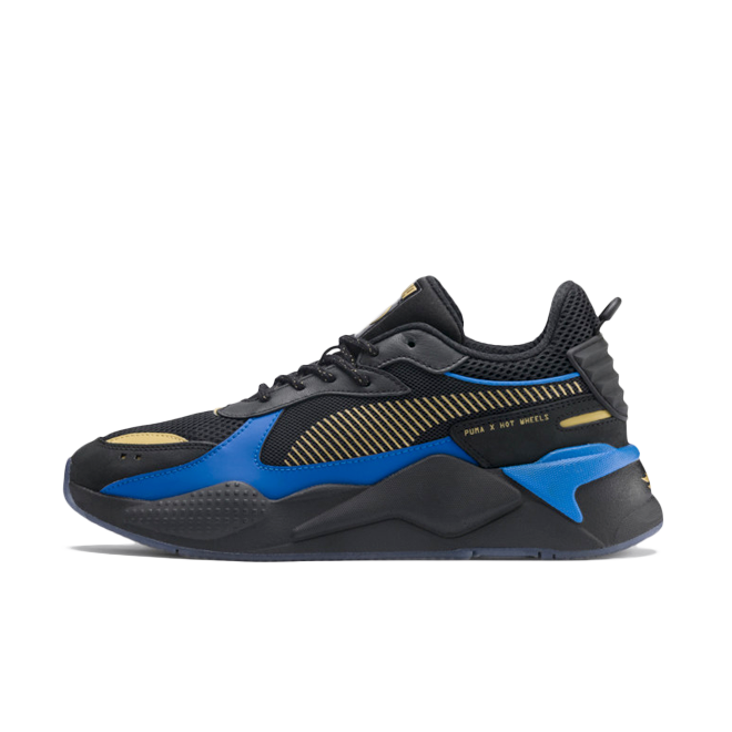 Hot Wheels X Puma RS-X 'Black' zijaanzicht