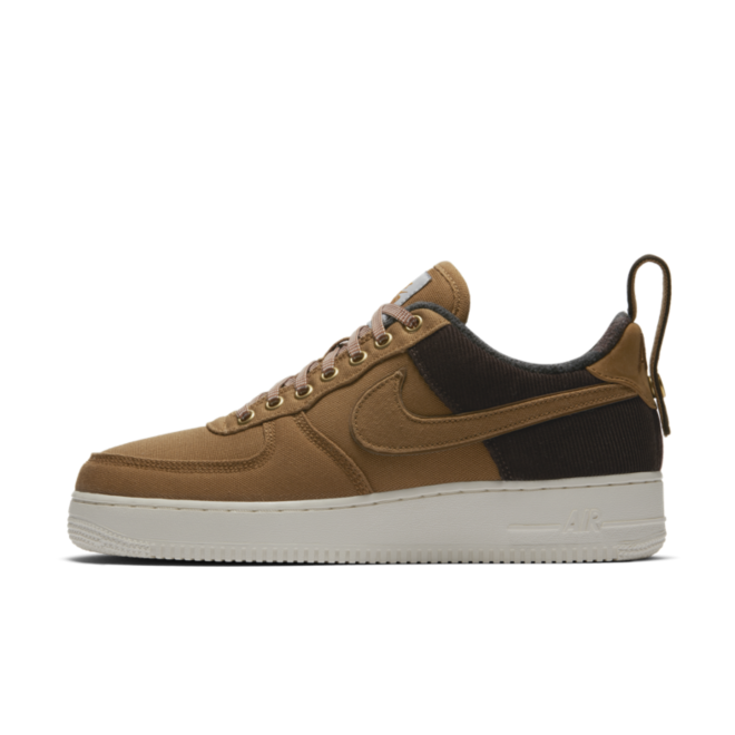 Carhartt WIP X Nike Air Force 1 'Brown' zijaanzicht