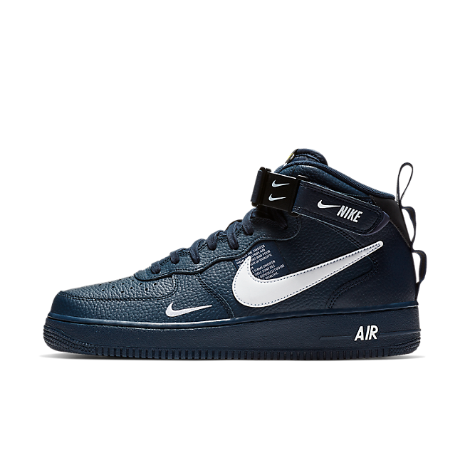 Nike Air Force 1 Mid '07 LV8 Utility - Obsidian | 804609-403