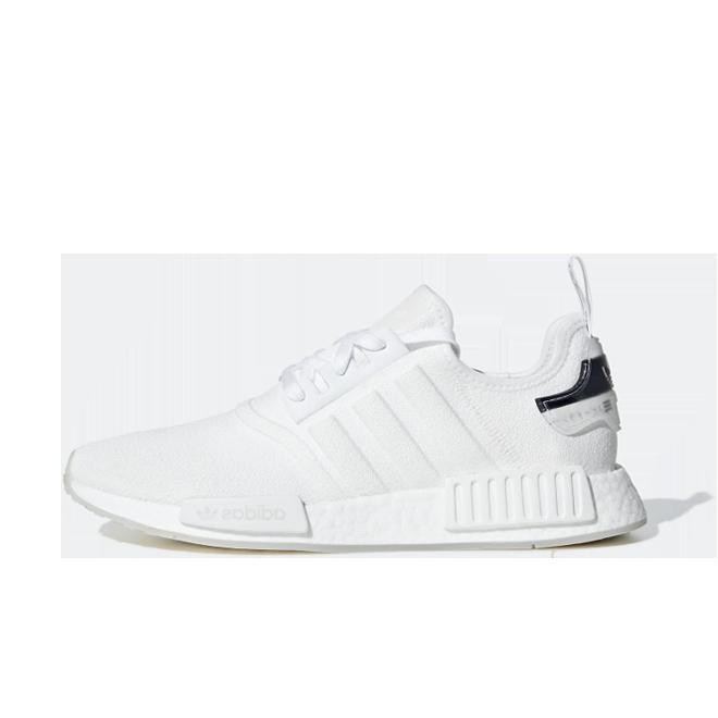 adidas NMD_R1 'Footwear White' zijaanzicht