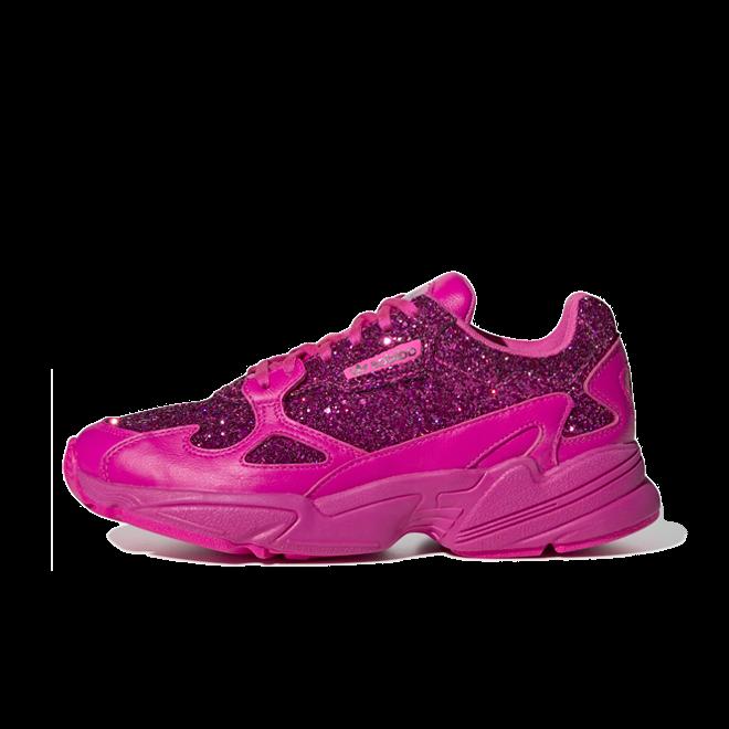 adidas Falcon 'Glitter Pink' zijaanzicht