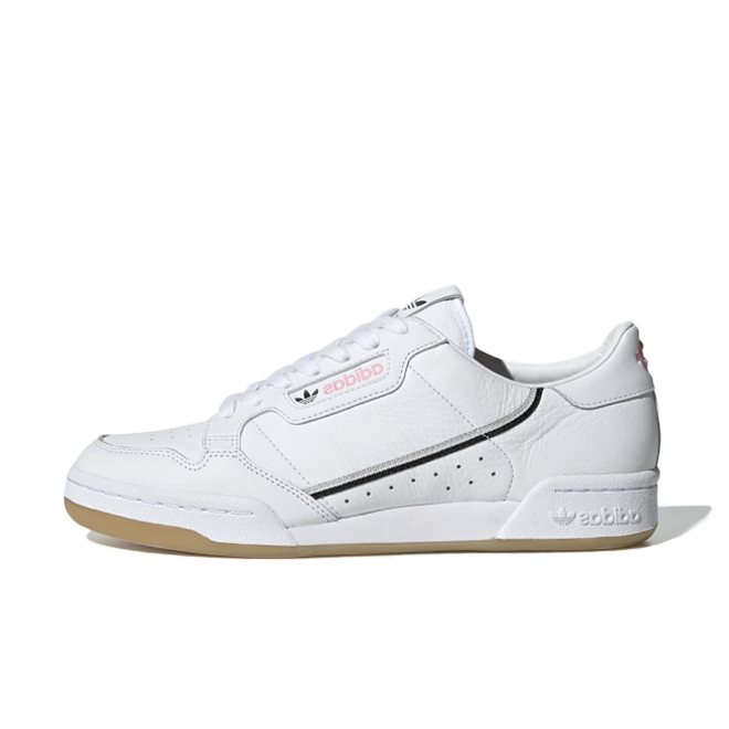 adidas Continental 80 X TFL 'White Pink' zijaanzicht