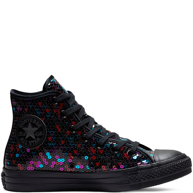 Converse Chuck Taylor All Star Holiday Scene Sequin High Top | 562443C | Sneakerjagers