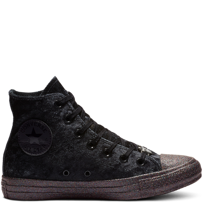 Converse x Miley Cyrus Chuck Taylor High Top Velvet