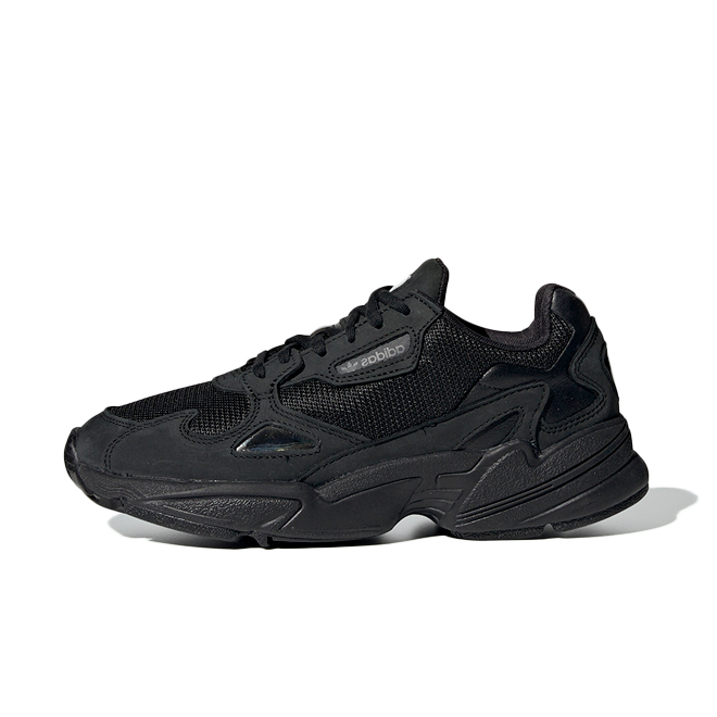 adidas Falcon Womens - All-Black zijaanzicht