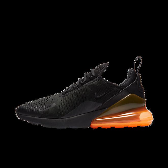 AH8050 008 Nike Air Max 270 BlackTonal Orange