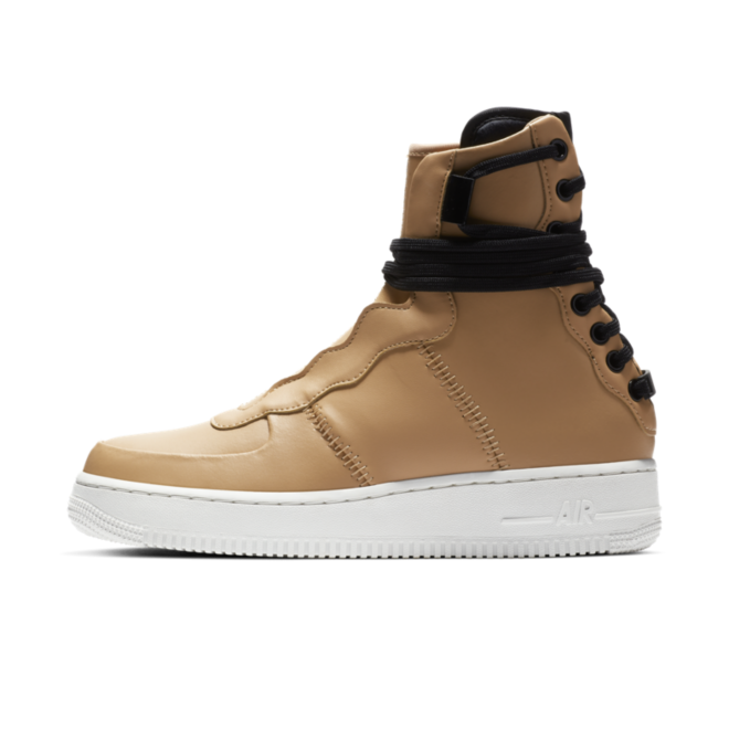 Nike Air Force 1 Rebel XX 'Praline' zijaanzicht
