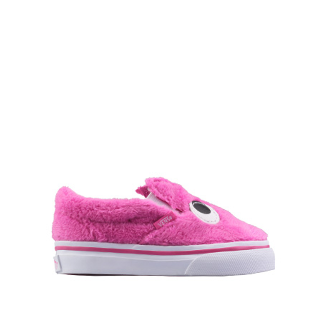 Slip-on Friend Pink/Faux Fur TS