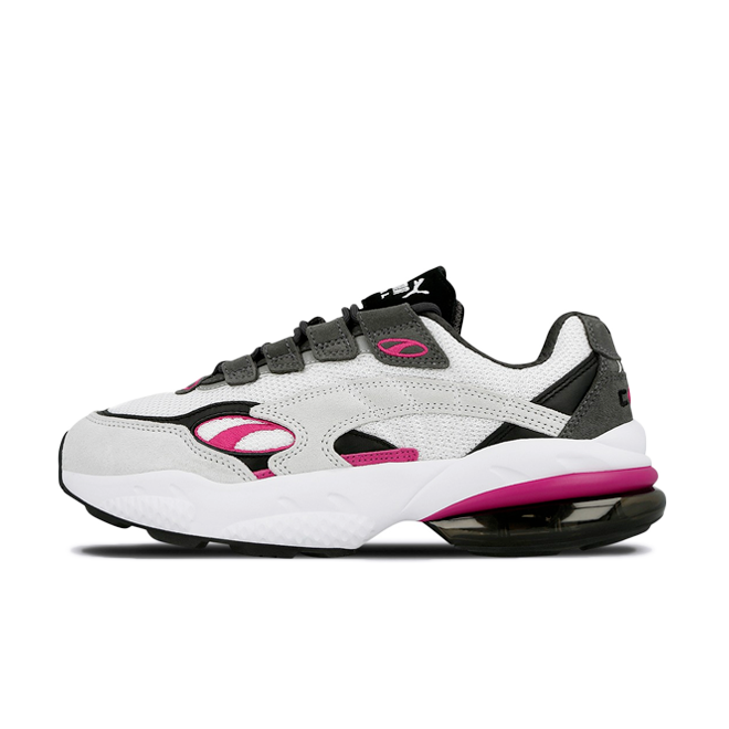 Puma Cell Venom 'White Purple' zijaanzicht