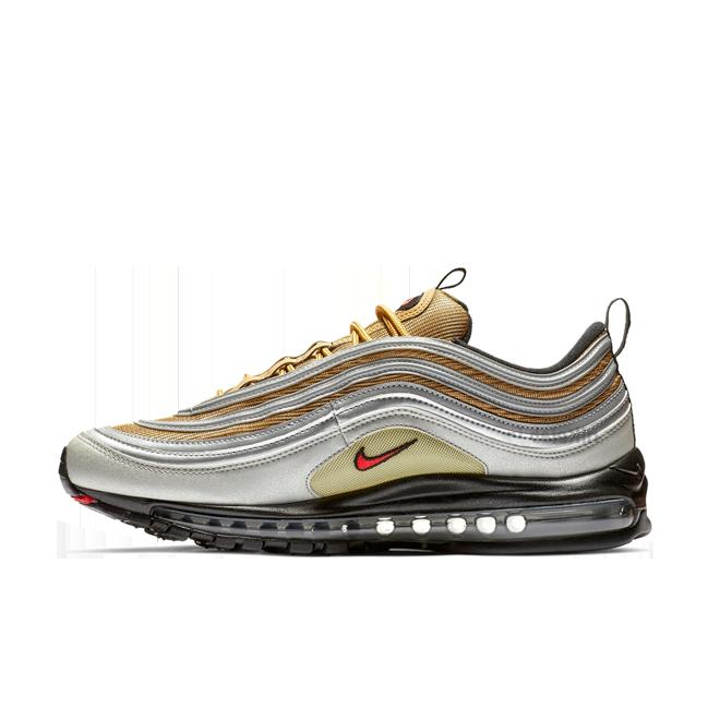Nike Air Max 97 'Silver & Gold' zijaanzicht