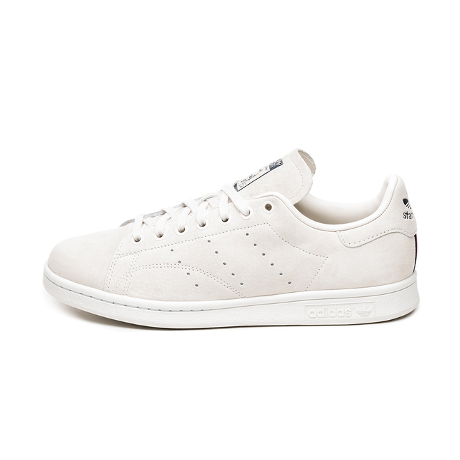 adidas Stan Smith (Clear White / Crystal White / Collegiate Burgundy)