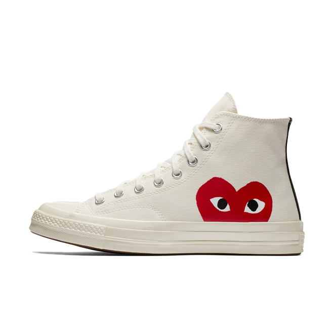 Comme Des Gacron Play X Converse Chuck 70 High 'White'