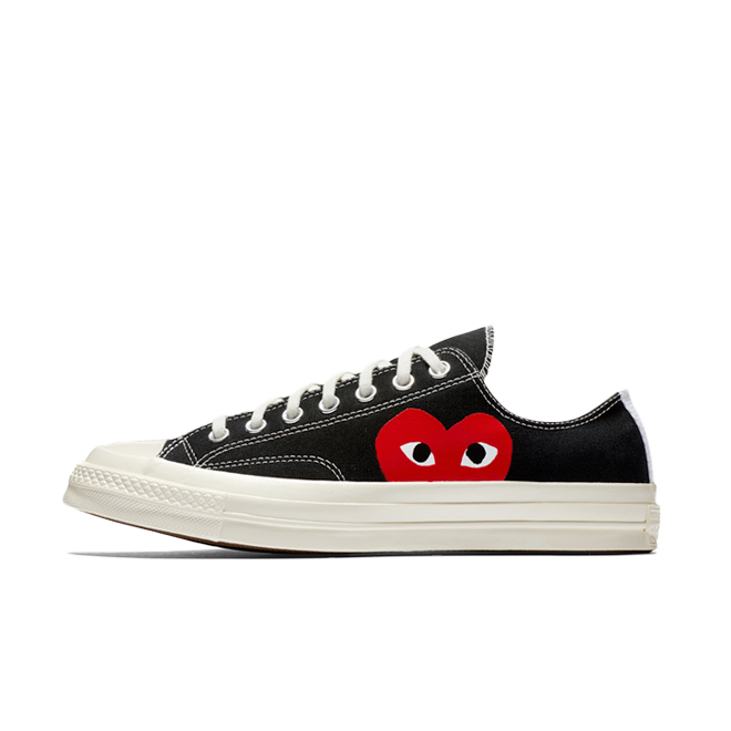 Comme Des Garcons Play X Converse Chuck 70 Low 'Black'