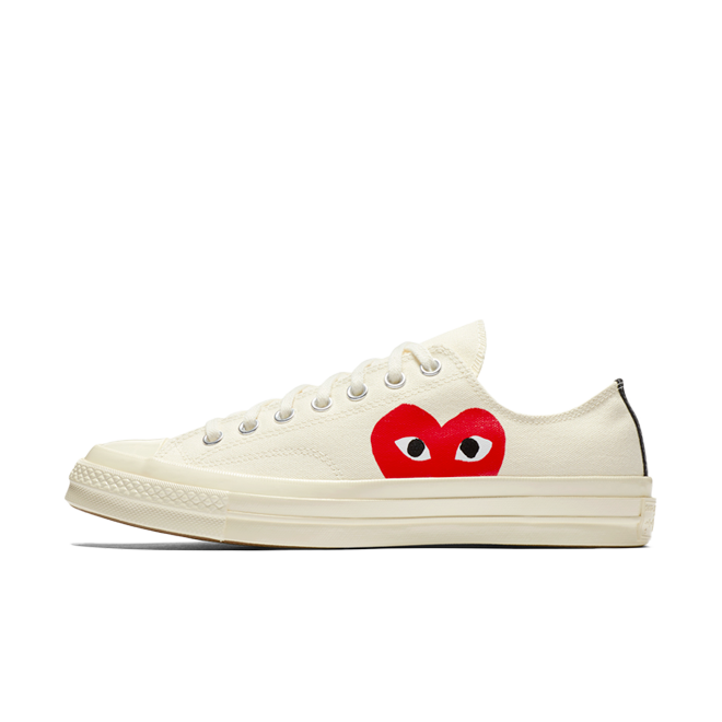 Comme Des Gacron Play X Converse Chuck 70 Low 'White' zijaanzicht