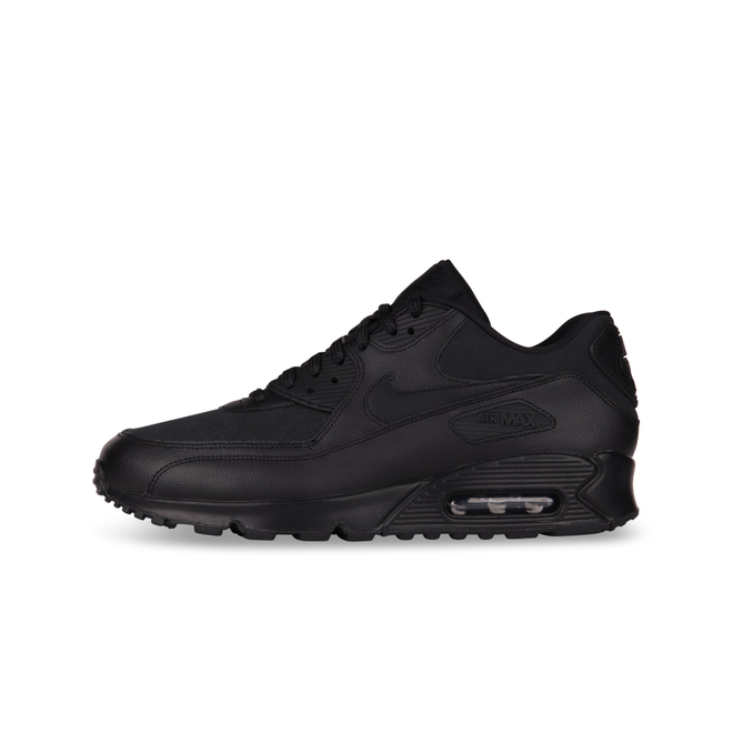 Nike Air Max 90 Leather Wmns 'Black' | 921304 001