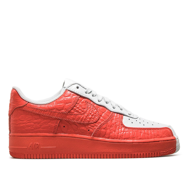 Nike Air Force 1 07 PRM Red Grey