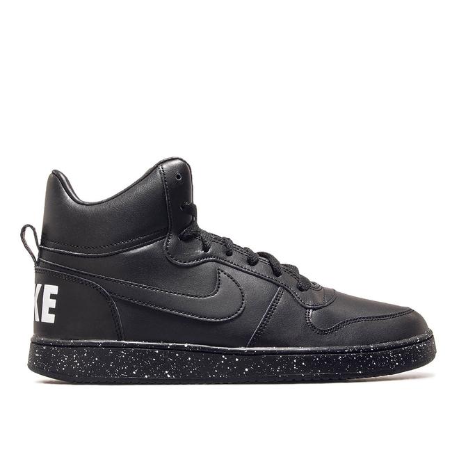 Nike Court Borough Mid Black