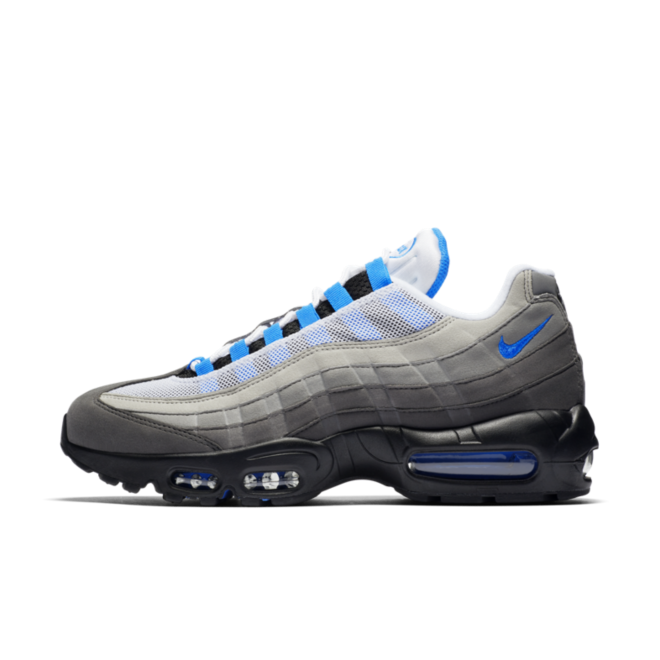 Nike Air Max 95 OG Retro 'Crystal Blue' zijaanzicht