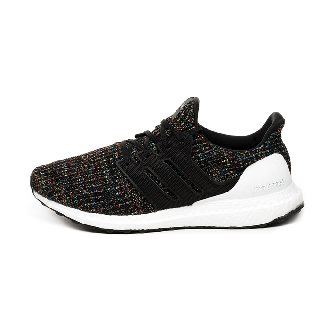 adidas Ultra Boost (Core Black / Core Black / Active Red)