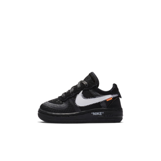 Off White X Nike Air Force 1 Td Black Bv0853 001 Sneakerjagers