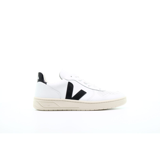 "Veja V10 Leather ""Extra White Black"""