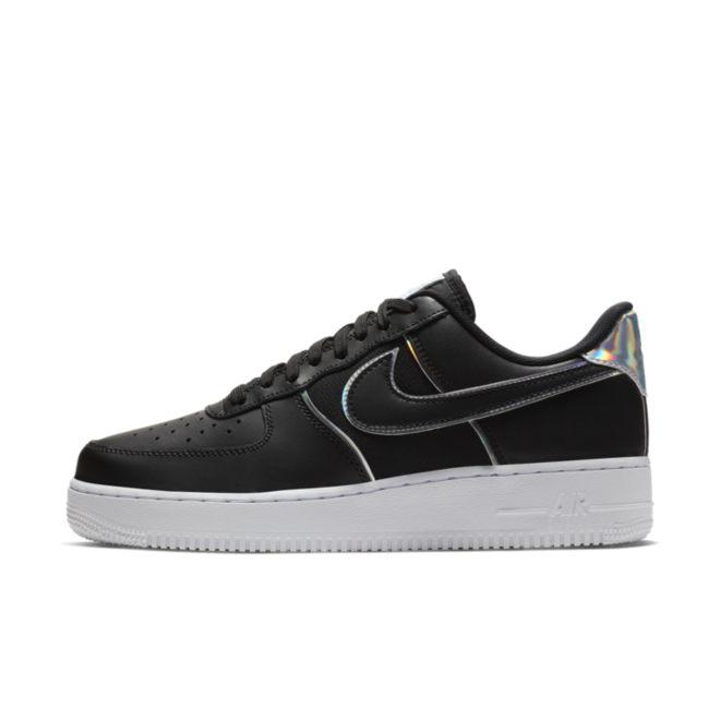 Nike Air Force 1 '07 Low 'Black & Silver'