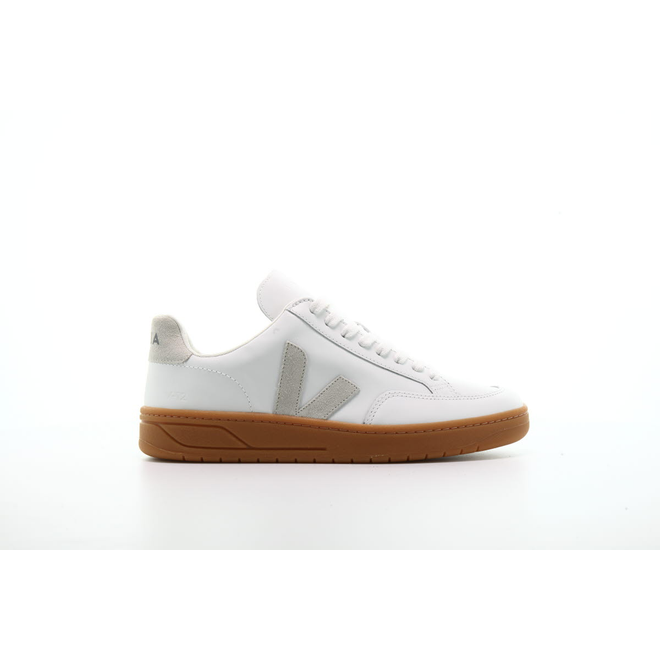 "Veja V-12 Leather ""Extra White"""