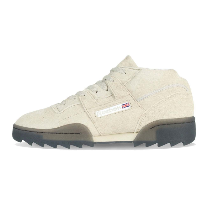 Reebok Workout Clean Mid R Light Sand / Black