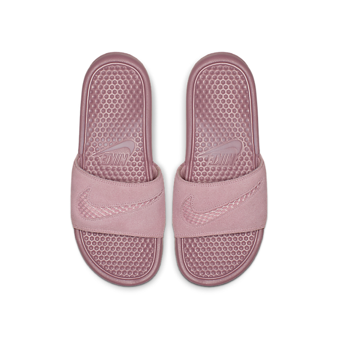 "Nike WMNS Benassi Leather SE ""Just Do It."""
