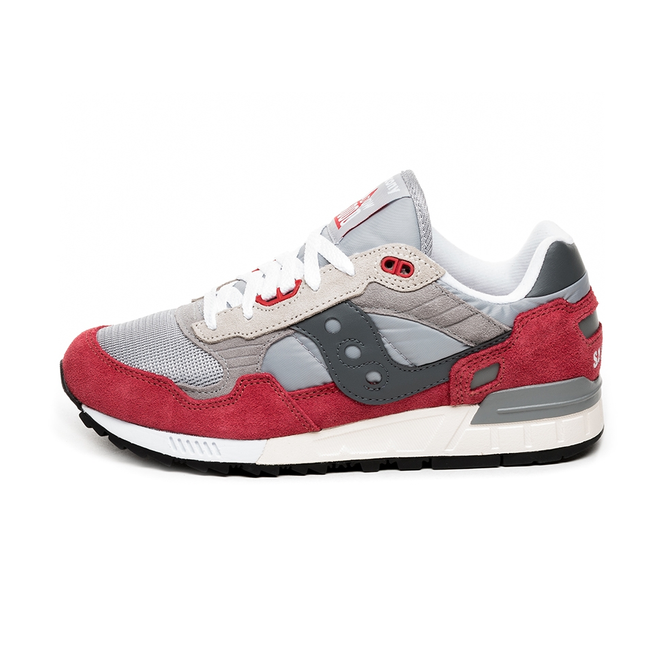new product 195b1 76d46 Saucony Shadow 5000 Vintage (Grey / Red) | S70404-14