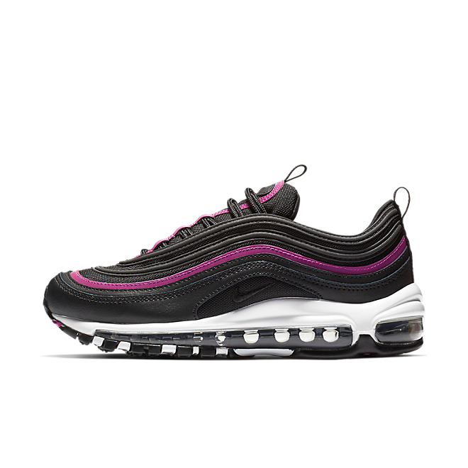 sports shoes e54eb 91623 Nike Air Max 97 Lux Womens - Black Fuchsia