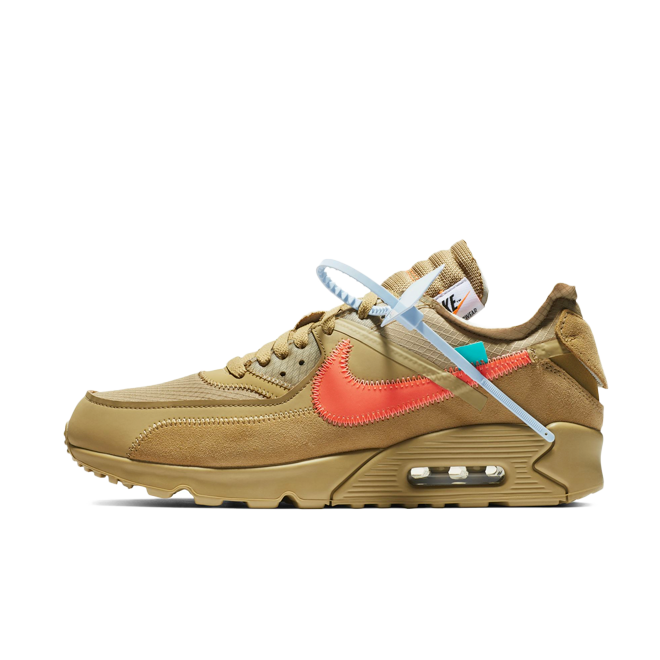 Off-White X Nike Air Max 90 'Desert Ore' AA7293-200