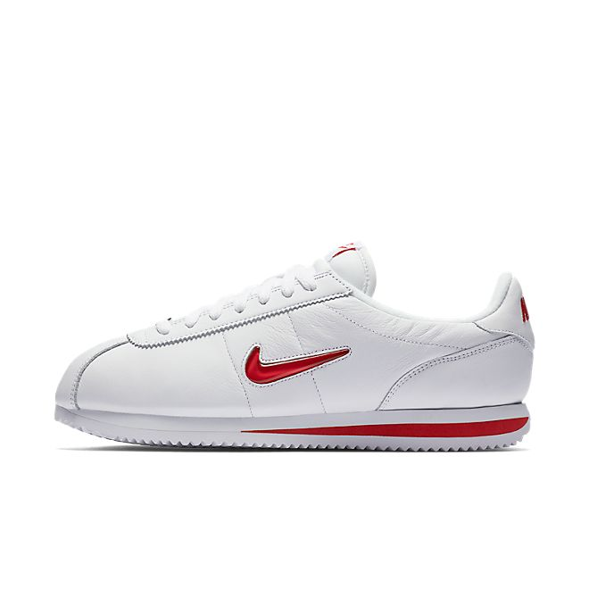 Nike Cortez Jewel University Red zijaanzicht