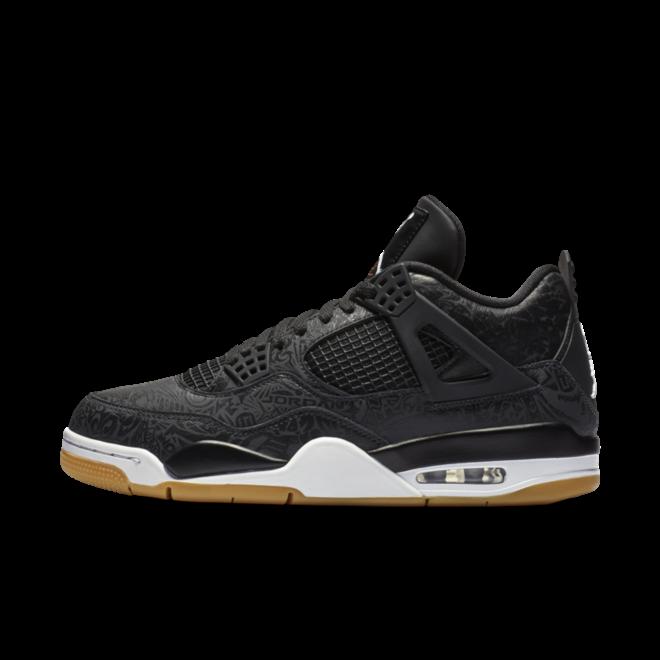 Air Jordan 4 'Black Laser' zijaanzicht