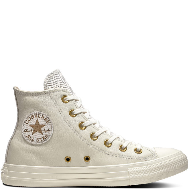 Chuck Taylor All Star Leather + Gator High Top
