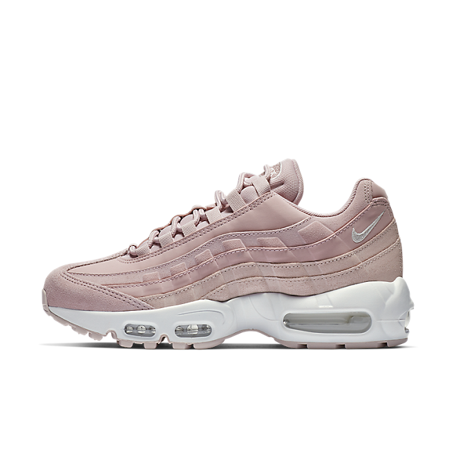 Nike Wmns Air Max 95 PRM (Plum Chalk Barely Rose Summit White) | 807443 503